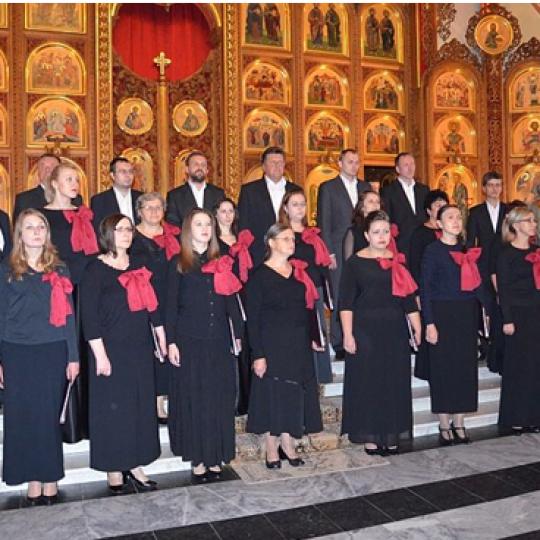 Chór parafii prawosławnej pw. Narodzenia NMP w Bielsku Podlaskim